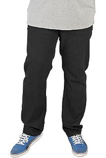 Mens ROCKFORD Comfort Fit Jeans Denim Black Beige Light Blue Navy Size 30 40
