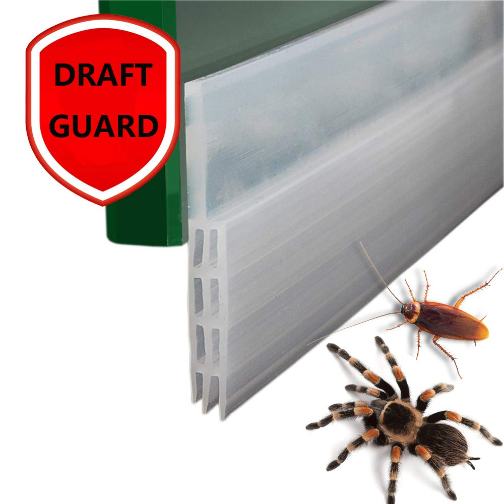Door Sweeps For Exterior Doors Door Draft Blocker Against