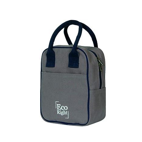 Amazon.com: EcoRight - Bolsa de lona de algodón reutilizable ...