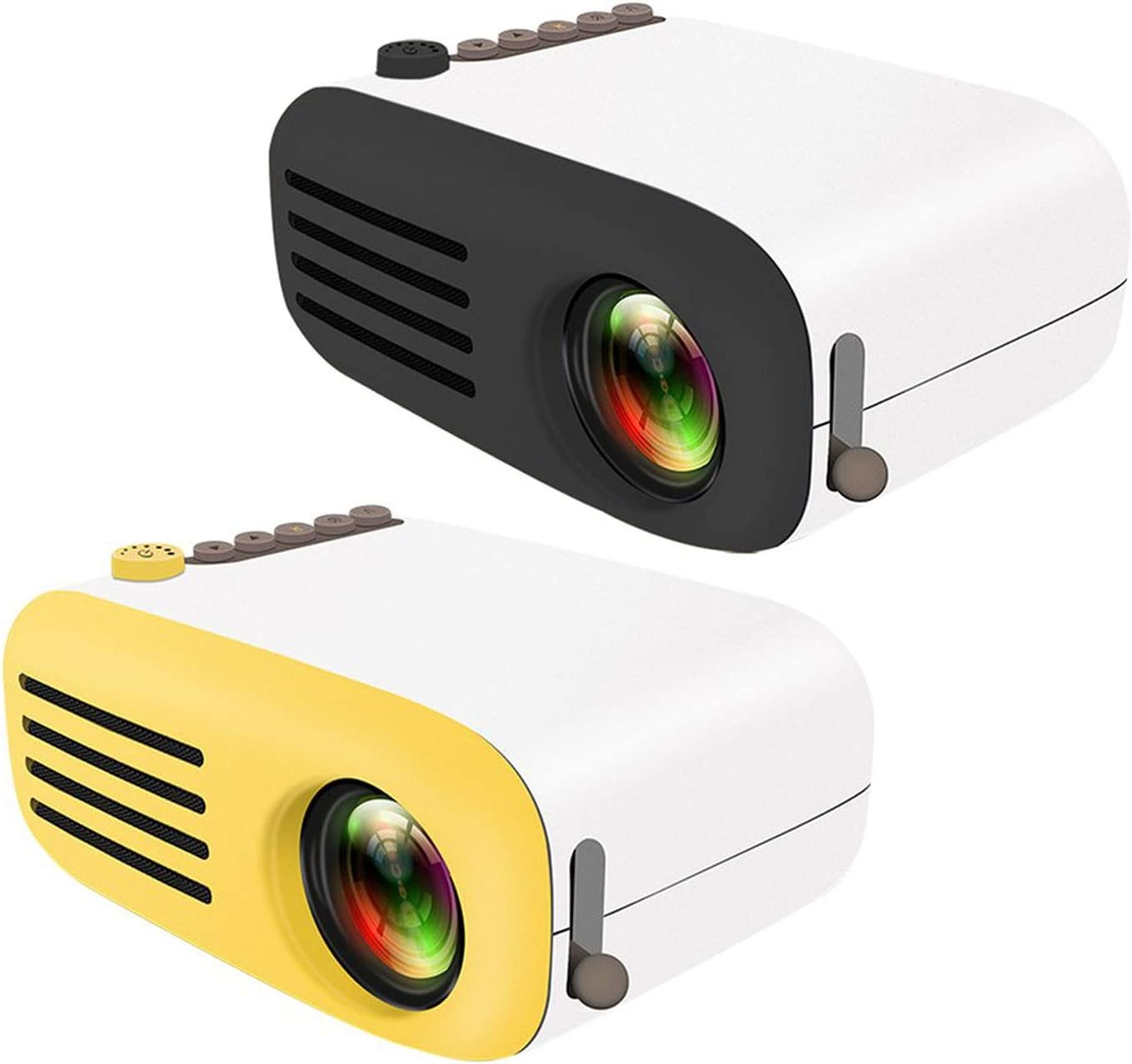 Mini Projector Yg200 Home Portable Led Projector Supports Hd 1080P Small Projector 20 60 Inch Projection Size,China,US