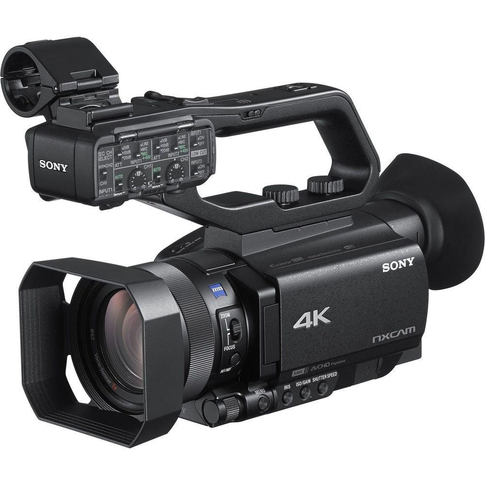 Sony HXR-NX80 - Videocámara (14,2 MP, CMOS, 12x, 9,3-111,6 mm, 32,8-393,6 mm, Tarjeta de Memoria): Amazon.es: Electrónica