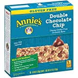 Annie's Chewy Gluten Free Granola Bars, Double Chocolate Chip, .98 oz, 5 Count