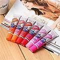 GUAngqi 6 Colors Tattoo Magic Color Peel Off Mask Tint Long Lasting Waterproof Lip Gloss