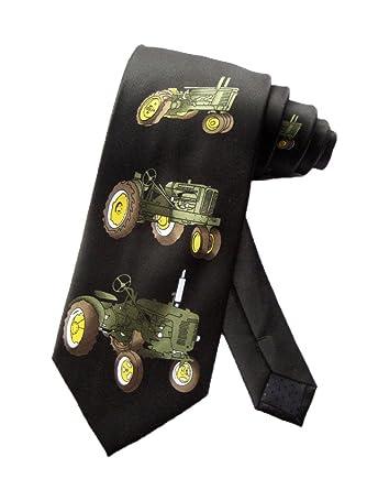 Parquet Hombres Farm Tractor Cortacésped corbata - Negro ...