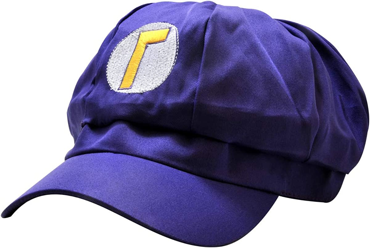 Cosplay Cap Transformation Hat Funny Gift Baseball for Halloween Costume Party Favors (Purple): Clothing