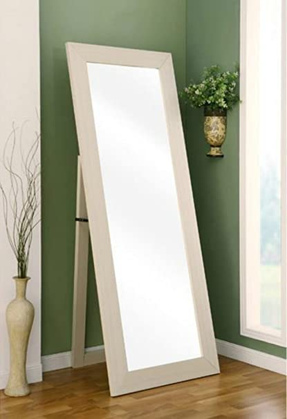 full length floor mirror Amazon.com: Wall Mount Full Length Floor Mirror   This Cheval  full length floor mirror