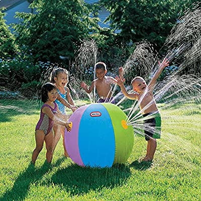 Little Tikes Beach Ball Sprinkler (88 Inches) (Colors May Vary): Toys & Games