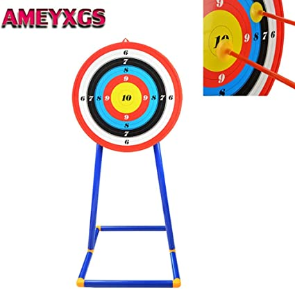 Amazon com : Kids Archery Stand Target Board Hanging Bow