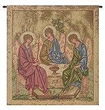 Holy Trinity Icon Italian Tapestry Wallhanging