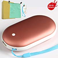 KEROLFFU Rechargeable Electronic Portable Hand Warmer for Samsung iPhone (Multiple Color)
