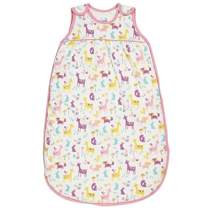 Kite Saco de dormir Woodland para niños de 0 a 6 años, 18 a 36 meses Blanco blanco 0-6 Meses/70 cm: Amazon.es: Ropa y accesorios