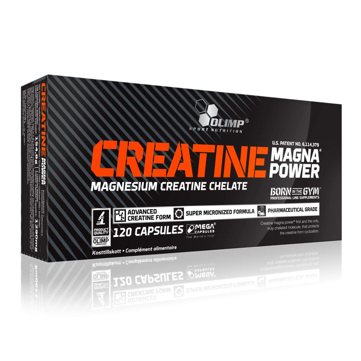 Creatine Magna Power - 120 mega caps by Olimp Nutrition M by Olimp Nutrition
