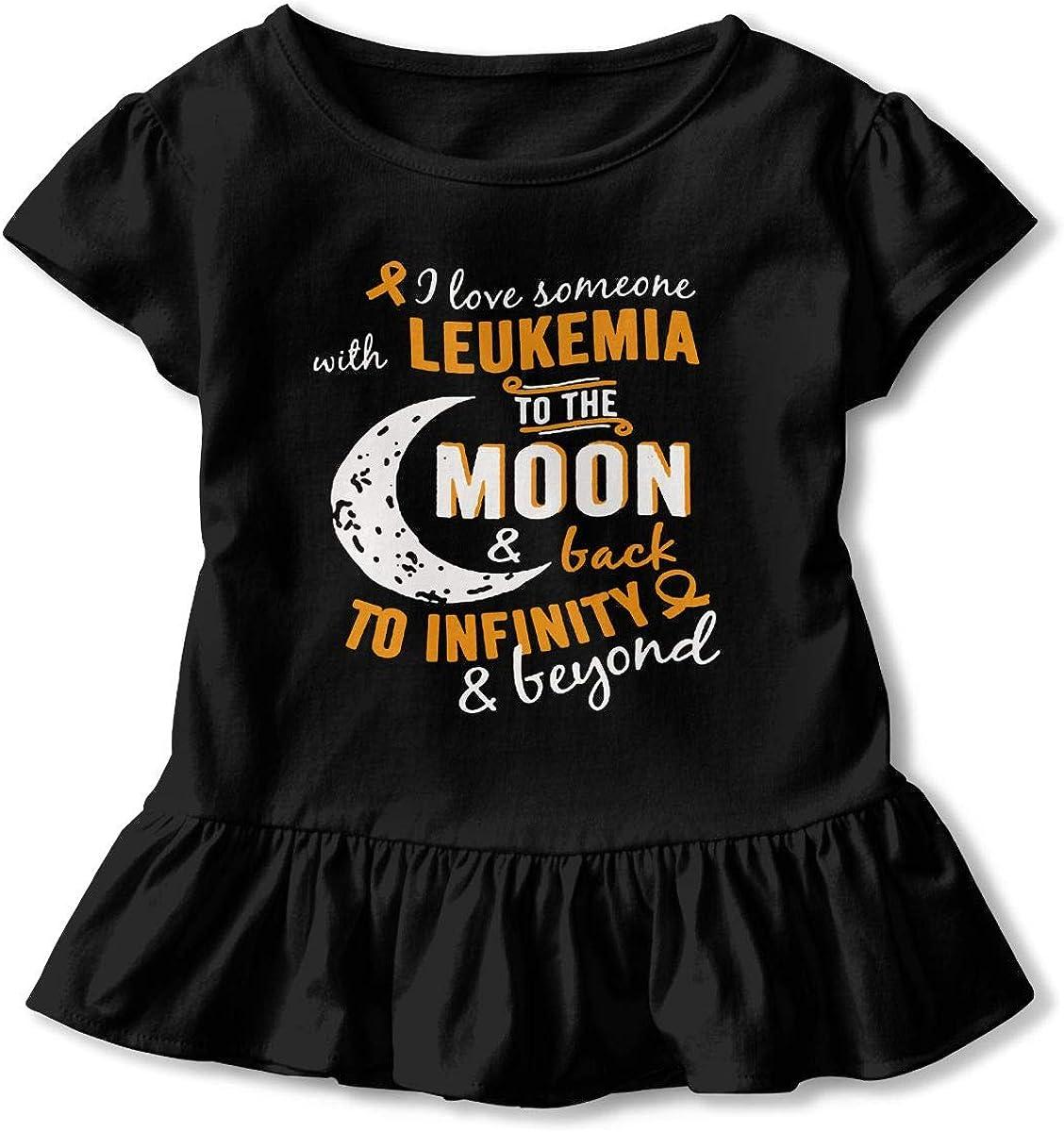 Tuna Fish T-Shirt Kids Girls Short Sleeve Ruffles Shirt T-Shirt for 2-6T