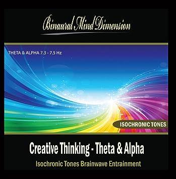 Binaural Mind Dimension - Creative Thinking - Theta & Alpha