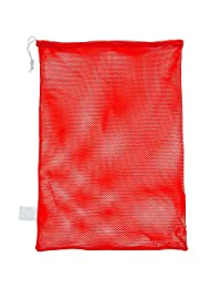 "Champion Sports MB21RD Mesh Bag, 24 x 36, Red, 24"" x 36"""