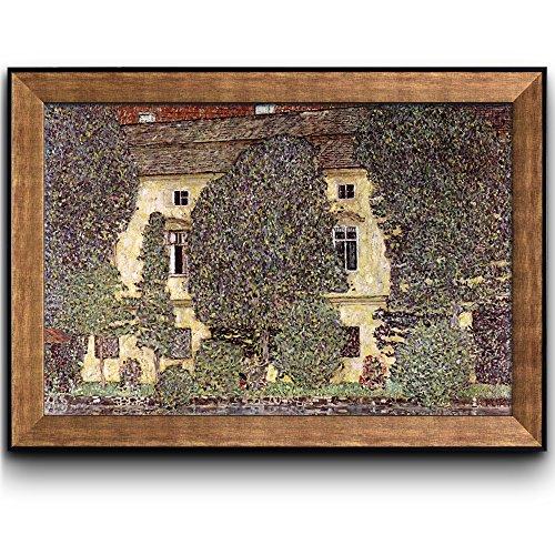 The Schloss Kammer on the Attersee III 1910 by Gustav Klimt Framed Art
