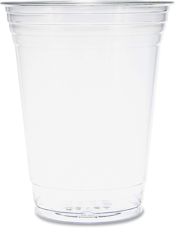 Dart TP16D 16 oz Ultra Clear PET Plastic Cup (Case of 1000)