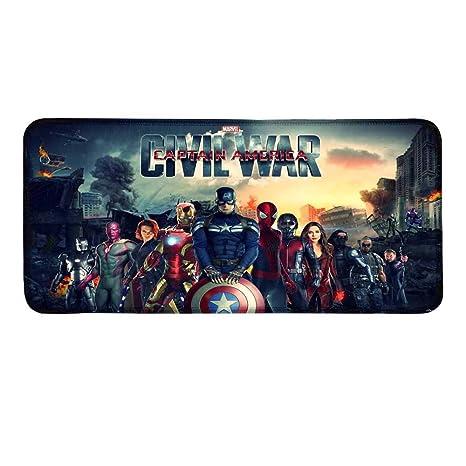 Amazon com : Non-Slip Rubber Mousepad Captain America Marvel