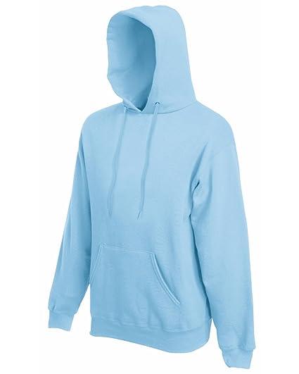 Fruit of the Loom Sweat shirt Homme Bleu Bleu ciel