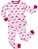 Leveret Big Girs 2015 2 Piece Pajama 100% Cotton (Size 6-14 Years)