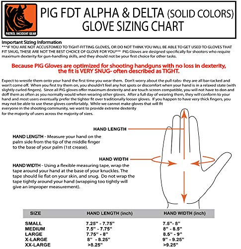 PIG Full Dexterity Tactical (FDT) Delta Utility Gloves