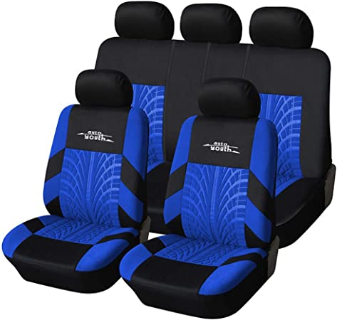 Aoopistc Galaxy Wolf Car Protecive Decorations Universal Auto Seat Covers Soft Reusable Washable Fit Most Vehicles SUV