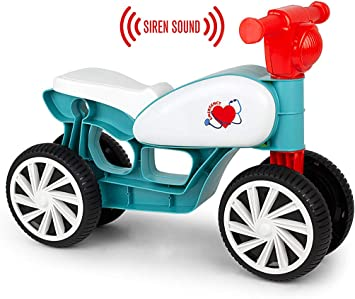 Chicos Correpasillos con cuatro ruedas y sonido Emergencias ...