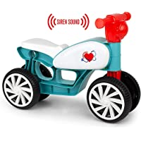 Chicos Correpasillos con cuatro ruedas y sonido Emergencias