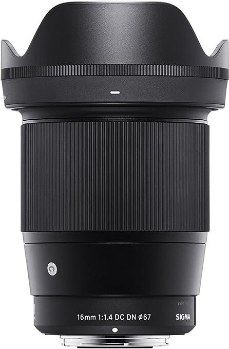 Sigma 16mm F1 4 Dc Dn Contemporary Objektiv Für Sony E Kamera