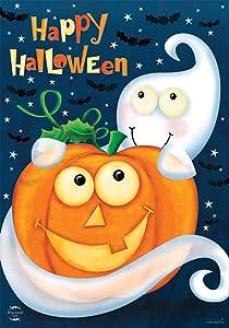 Briarwood Lane Halloween Haunts Ghost Garden Flag Jack o Lantern 12.5