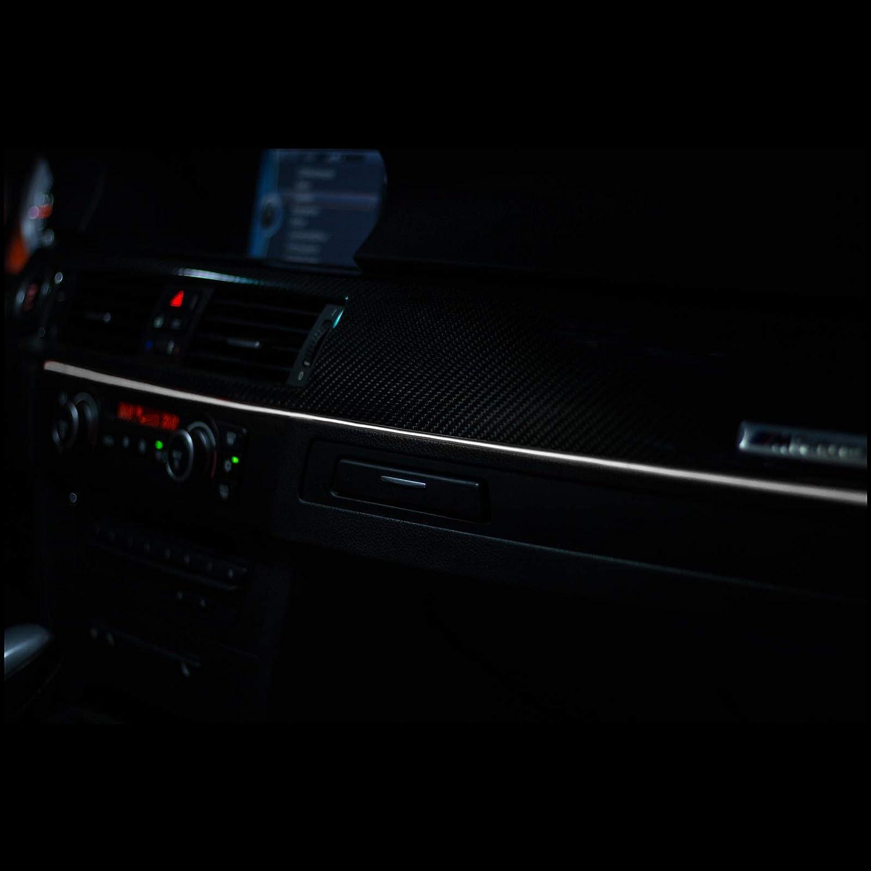 Gelb - 5 Meter LETRONIX EL Wire Lichtleiste Ambientebeleuchtung Auto 12V Gelb 5 Meter 3,20/€//M