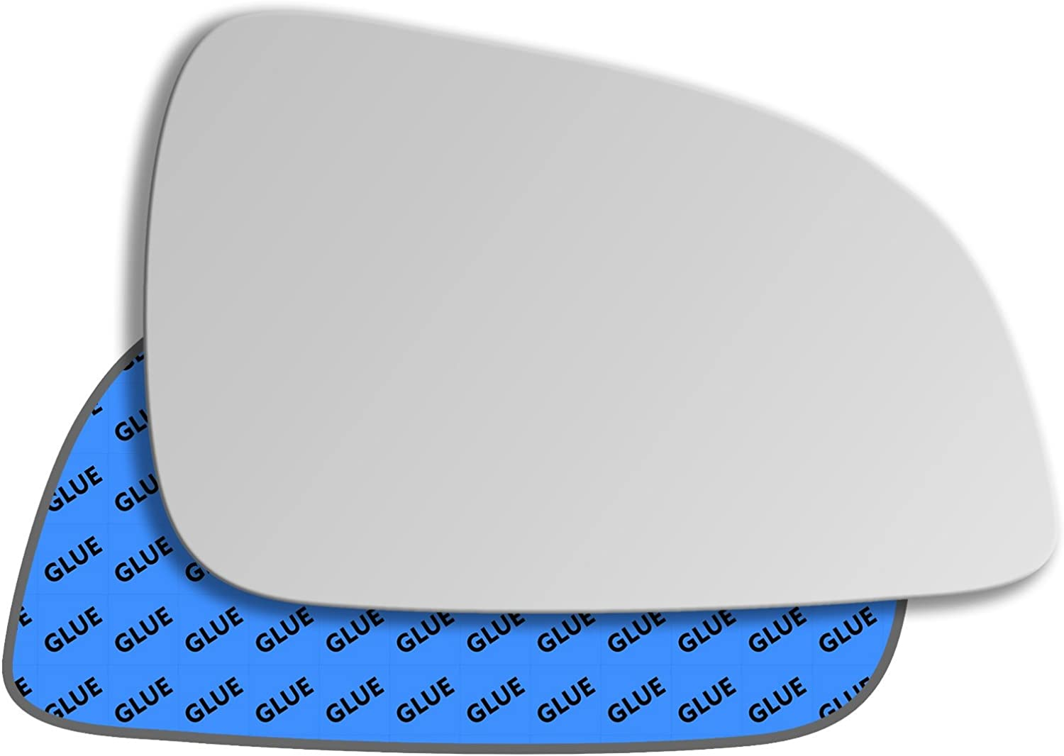 Left Side Covex Wing Mirror Glass For Vauxhall Astra Clip On Non Heated Fits to