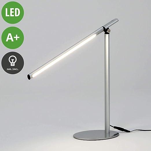 LED Lámpara de mesa Kolja (Moderno) en Gris hecho de Aluminio (1 ...