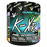 VMI Sports K-XR Pre-Workout Supplement for Intense Energy, Gummy Bear, Muscle Builder for Extreme Pumps, Enhanced Focus, Creatine Free, Endurance, Strength and Power Pre-Workout Powder Review