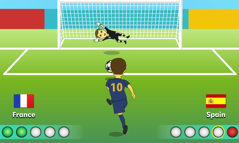 But with a little practice and our scoring technique, you can still succeed  with every opportunty for a penalty kick that comes your way.