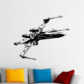 X Wing Fighter Tatuajes de pared de Star Wars Spaceship Vinyl ...
