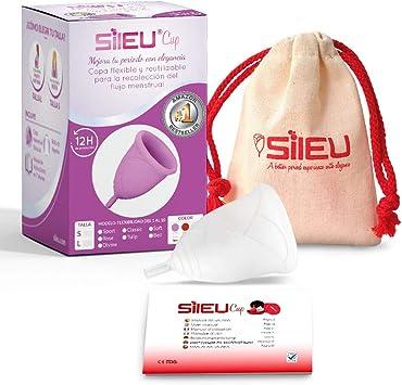 Copa Menstrual Sileu Cup Rose - Modelo de iniciación sencillo de ...