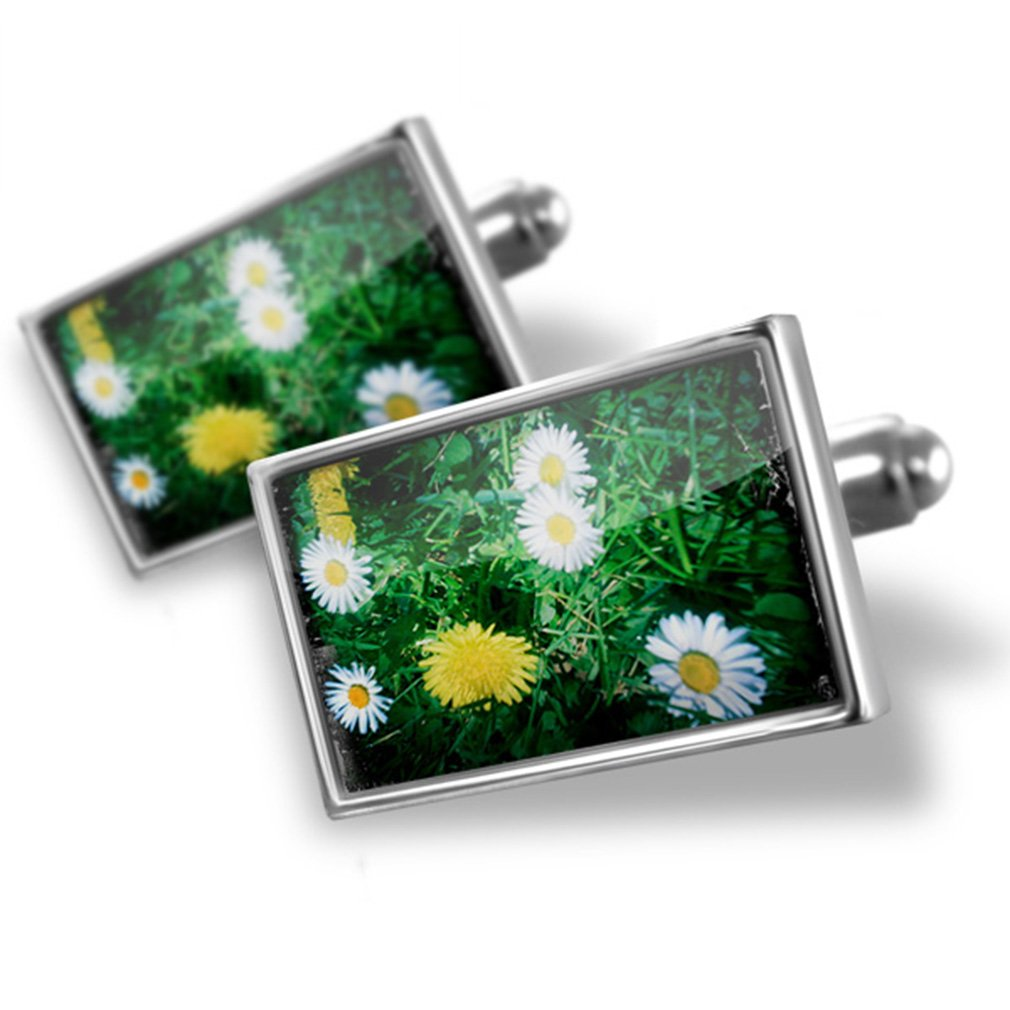 Cufflinks Daisy-summer meadow - Neonblond