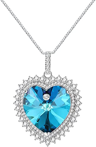 Xuping Beauty Pendant Necklace with Box Crystals from Swarovski Party Jewelry Women Christmas Gifts