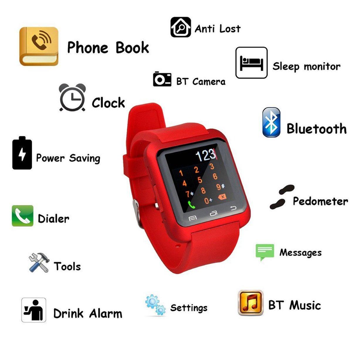EasySMX Smartwatch - Reloj inteligente conectado: Amazon.es ...