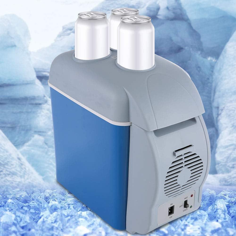DC 12V 7.5L Mini frigorifero elettrico per auto e riscaldamento per casa Compatto e portatile auto Mini frigorifero portatile dormitorio o barca ufficio