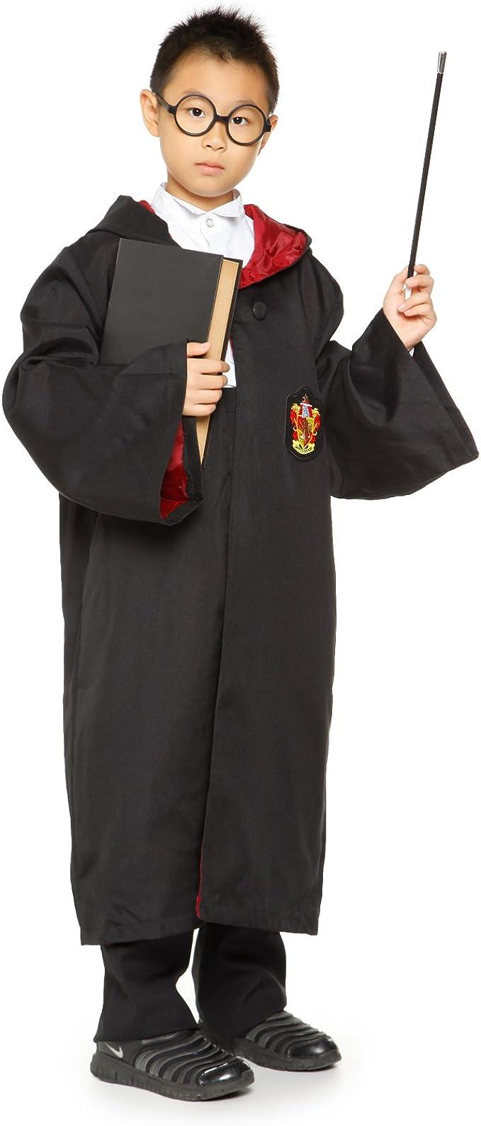 Adulto Niño Disfraz de Gryffindor de Harry Potter Robe Capa de ...