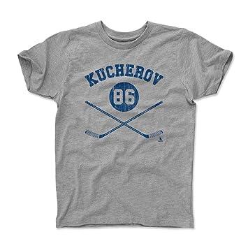dd5a07da2a1fb 500 LEVEL's Nikita Kucherov Kids Shirt Youth X-Small (4-5Y) Heather