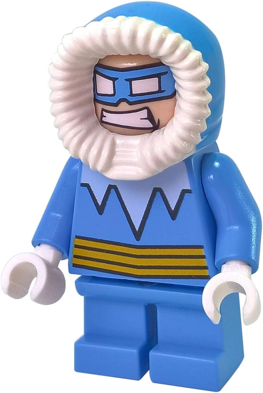 Amazon Com Minifigures Lego Dc Comics Super Heroes Captain Cold Short Legs Toys Games