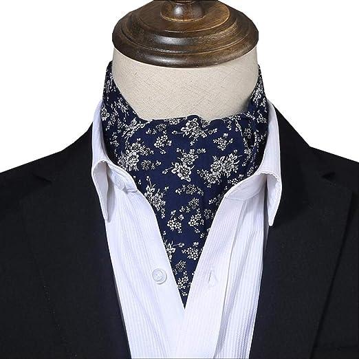 YANJUN-Neckties - Bufanda de Seda, algodón, para Hombre ...