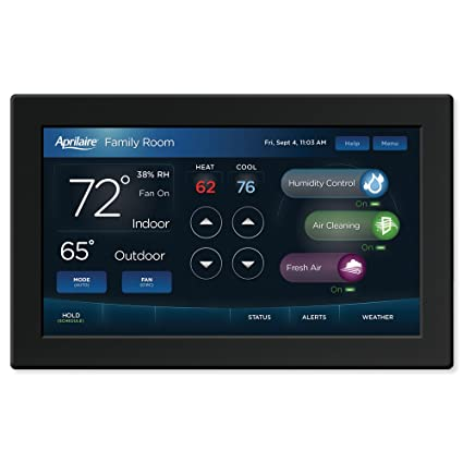 Aprilaire 8840 7 Inch Color Touchscreen Wi Fi Automation Iaq