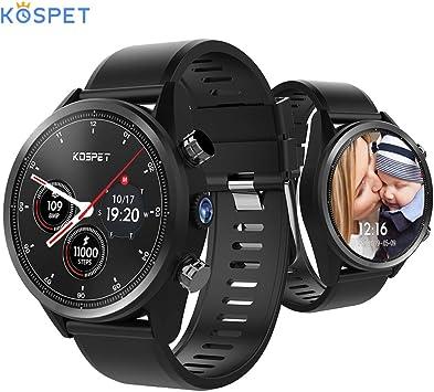 Kospet Hope 4G Smartwatch 3GB + 32GB 8.0MP Cámara Android ...