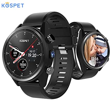 Kospet Hope 4G Smartwatch 3GB + 32GB 8.0MP Cámara Android 7.1 GPS ...
