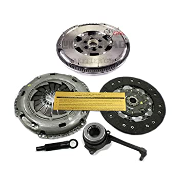 LuK Kit de embrague + DMF volante Audi TT Quattro VW Bettle Golf Jetta 240 mm 6 velocidad: Amazon.es: Coche y moto