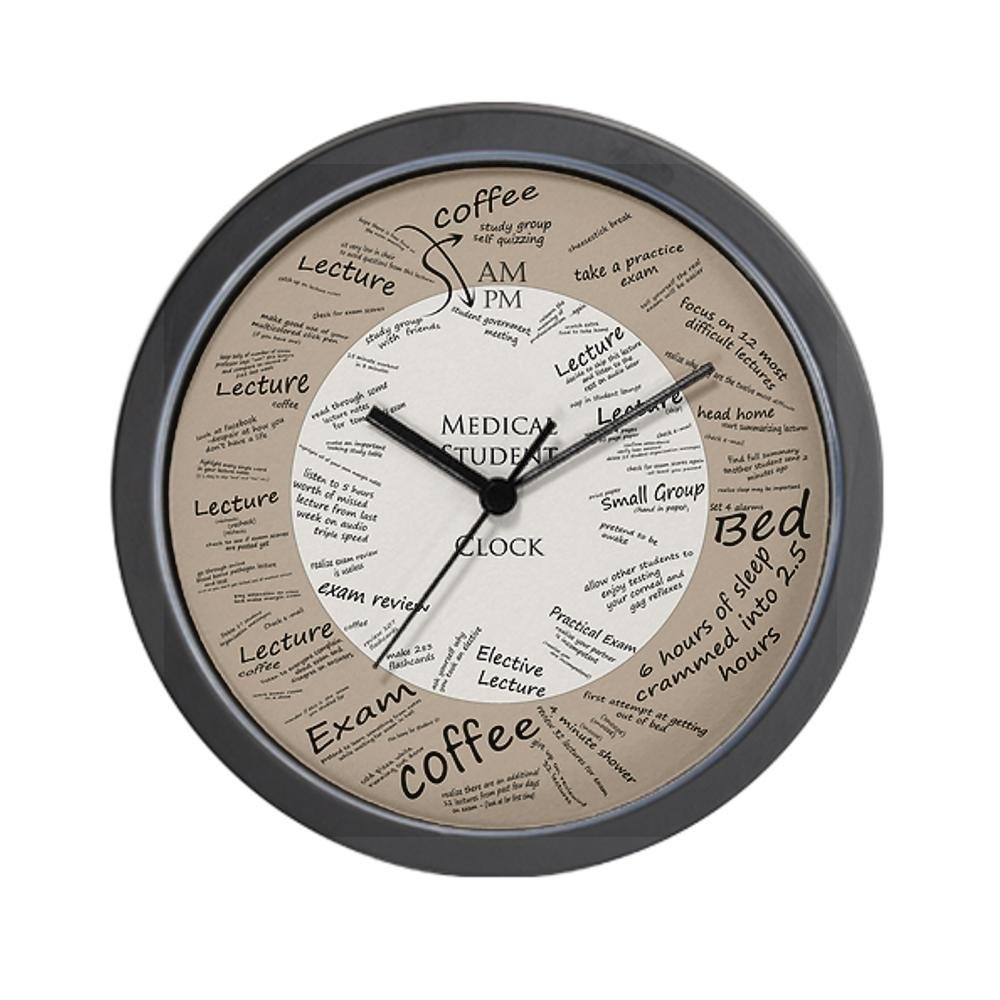 office clock wall. CafePress Medical Student Wall Clock - Standard Multi-color [Kitchen \u0026 Home]: Amazon.co.uk: Kitchen Home Office